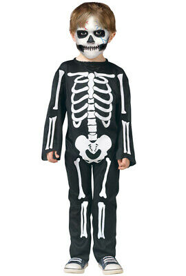 Brand New Scary Skeleton Toddler Halloween Costume