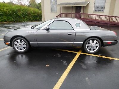 2003 Ford Thunderbird  288 ACTUAL MILES, 1 OWNER, ABSOLUTELY BRAND NEW !!!!