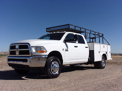 2011 Dodge Ram 3500 HD Service Utility Bed Crew Cab 4WD Dually Cummins