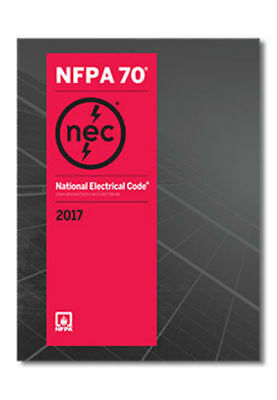 NFPA 70 2017: National Electrical Code (NEC) Paperback (Softbound), 2017 Edition