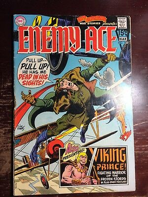 Star Spangled War Stories Enemy Ace 149 Dc Amazing Joe Kubert Art