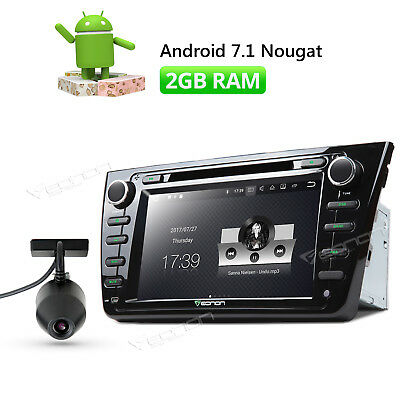 """For Mazda 6 Android 7.1 8"""" Car DVD GPS Navigation Touch Screen + DVR Dashcam R"""