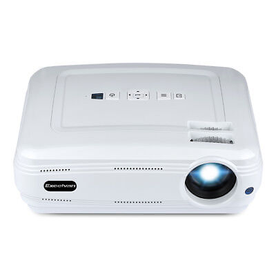 WiFi Bluetooth Multimedia HD 1080P LED Projector Home Cinema Theater HDMI USB AV