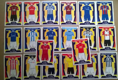 17 18 Match Attax Full Set 20 Kit Cards Topps All Listed 2017/2018