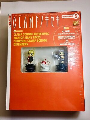 JAPAN Clamp Vol5 Clamp School Detective w/Chess Pieces