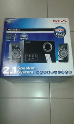 Sound Speakers 2.1 Thunderbox NGS 80w