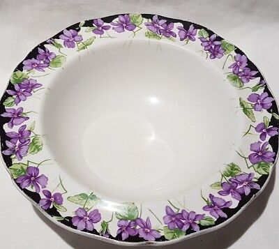Vintage Royal Doulton Violets Small Bowl c1934 Made In England