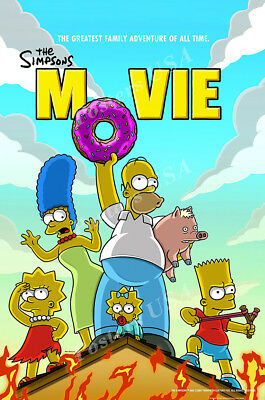 Posters USA - The Simpsons Movie TV Show Series Poster Glossy Finish - TVS384