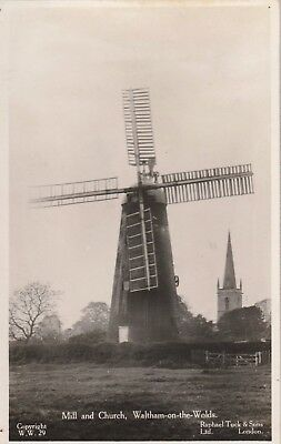 Leicestershire,  Waltham on the Wolds, Mill & Church.