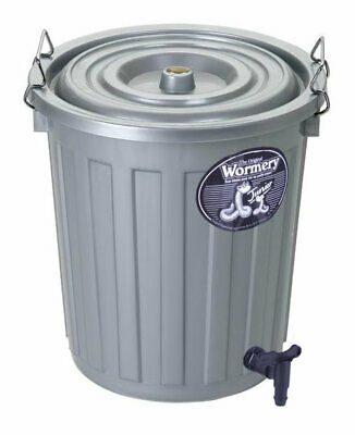 THE JUNIOR WORMERY Composter Worm Compost Bin for CHILDREN Balconies Flats NEW
