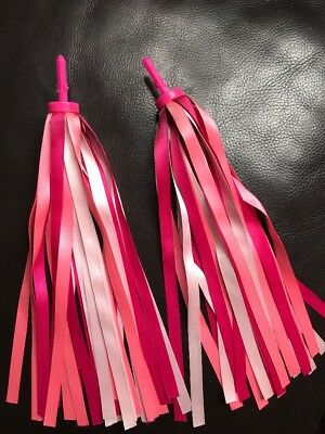 Micro Scooter - Pink Streamers Tassels Ribbon