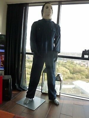 Michael Myers Full Size Mannequin 6 Foot 2 Tall Best On Ebay Halloween