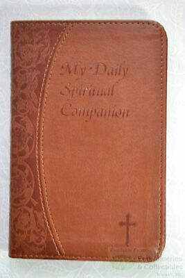 My Daily Spiritual Companion Record Book Soft Cover Leather Feel, 150mm x 75mm