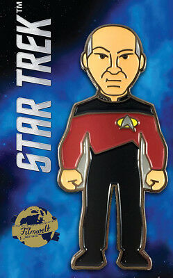 Captain Picard  - exklusiver Sammler Collectors Pin Metall - Star Trek - neu