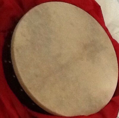 "BODHRAN 18"" Vignoles Quality Original + Beaters Carry case unplayed Irish drum"
