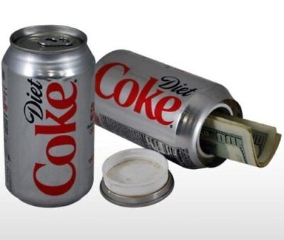 Diet Coke Stash Safe Diversion Can Hidden Home Security Office Kitchen Secret It
