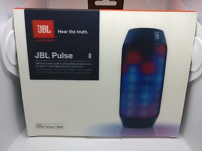 JBL Pulse Noir - Sans fil - Bluetooth - Nfc - Effets Lumineux - Android Iphone