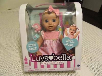 New LUVABELLA Blonde Baby Doll - Responsive - Interactive Doll = Ready To Ship
