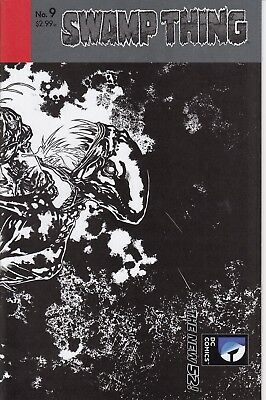 SWAMP THING   9  ..  (5th Series).......NM-...2012...1:25 Variant.....Bargain!