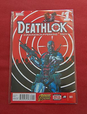 Deathlok - Issue 1 - SOLD OUT FIRST PRINT - Edmondson - Perkins - Troy - MARVEL