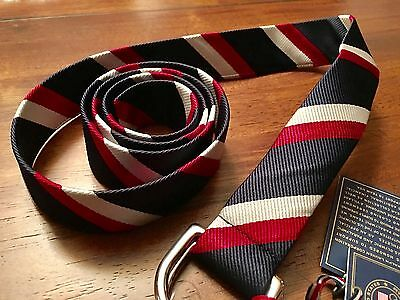 Ralph Lauren 2016 Olympic Games USA stripped D-Ring belt Americana NWT XL