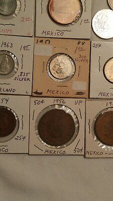 14 (Fourteen) Coins From Mexico Plus