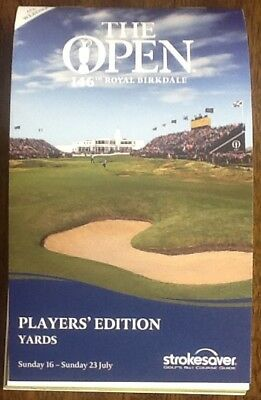 The Open Championship Royal Birkdale  Strokesaver Players Edition in Yards 2017