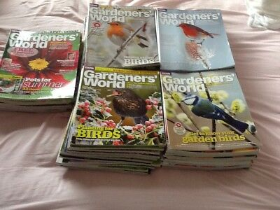 Gardeners World Magazines -lots! Magazines from 2012 to 2017 included.