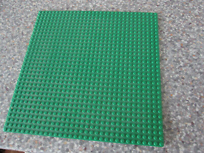 Large Green Lego Base Board 32 x 32 studs .... baseboard for building upon