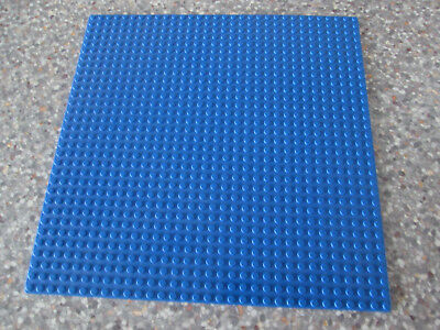 Large Blue Lego Base Board 32 x 32 studs .... baseboard for building upon