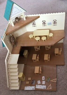 Sylvanian Families Berry Grove School bundle. Furniture And Accessories