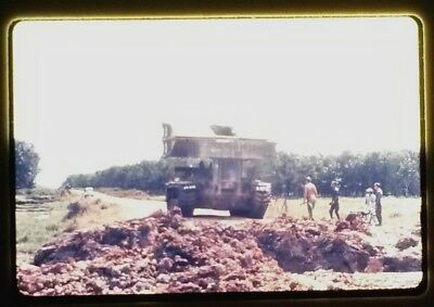Vietnam Slide- 2 Tour Army GI with 18TH ENGINEER BRIGADE collection 1966-70 #13