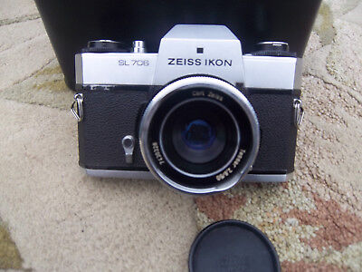 camera mechanical--ZEISS IKON SL706. With case.