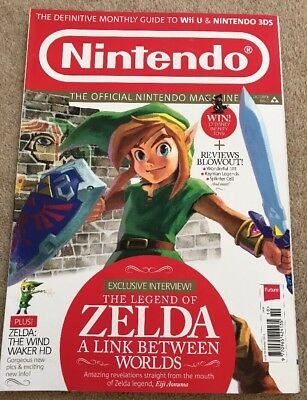 41292 Issue 99 The Oficial Nintendo Magazine Magazine October 2013 Zelda