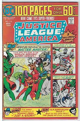 Justice League of America (Vol 1) # 116 Very Fine (VFN)  RS003 DC Comics BRNZ AG