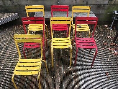 French Style Bistro Metal Chairs