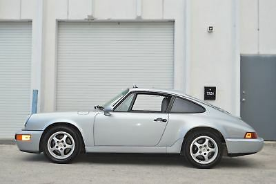 1992 Porsche 964 911 Carrera 2 Coupe C2 78k Miles - Original Cali Car - Manual - LSD - Rare Color - Rust & Accident Free