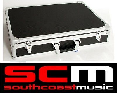 Cnb Pc312 Guitar Fx Effects Pedal Hard Road Case Removable Lid Velcro Hardcase
