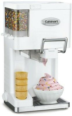 Cuisinart Mix-It-In 1.5 Qt. Soft Serve Ice Cream Maker Machine Yogurt Sorbet