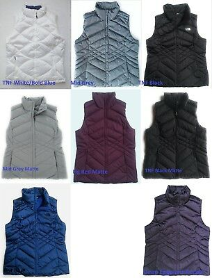 New The North Face Womens Aconcagua Goose Down Fill Puffer Vest XS-XL