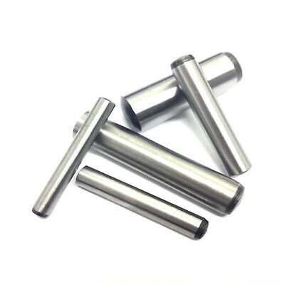 Metric Hardened & Ground Steel Dowel Pins 3mm 4mm 5mm 6mm 8mm 10mm 12mm DIN6325