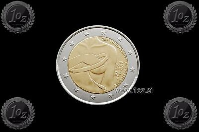 FRANCE 2 Euro 2017 ( Breast cancer ) Commemorative Coin * UNCIRCULATED