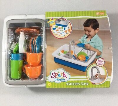Spark Kitchen Sink Create Imagine Kids Play Toy Real Working Water Ready 2 Ship
