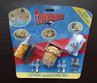 Thunderbirds Adventure Set - Hood Sub , Mole , Firefly & 6 Mini Figures - Sealed