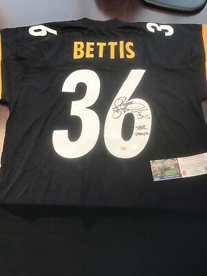 jerome bettis signed jersey COA - Pittsburgh Steelers