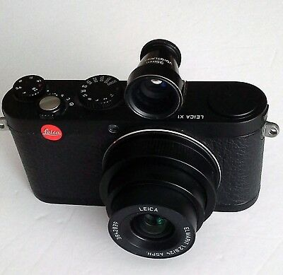Leica X1 Camera with Voigtlander viewfinder in good condition