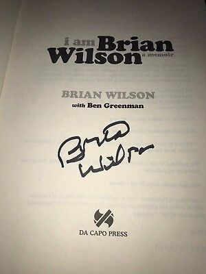 Beach Boys NEW 2017 SOFT COVER VERSION ' I AM BRIAN WILSON ' SIGNED BEAUTIFULLY!