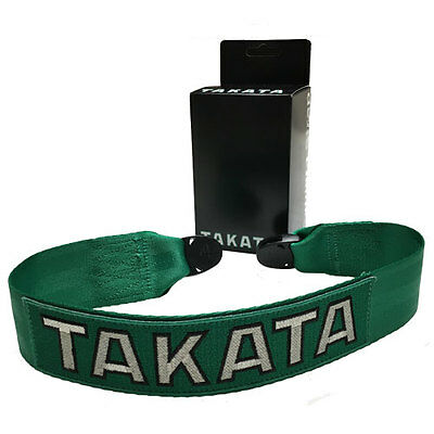 *official* Takata Racing Camera Strap - New Release * Green * Restocked!