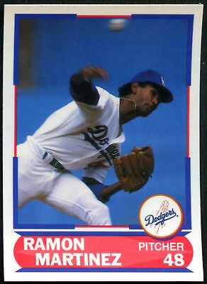 Ramon Martinez Dodgers 635 Score 1989 Baseball Card C380