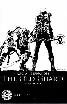 The Old Guard #1 Black & White Image 25Th Blind Box Variant Cover